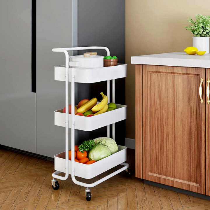 3- Tier Movable Trolley