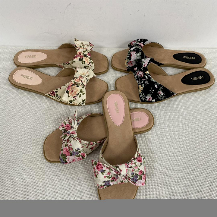 Ladies Flowered Casual Shoes