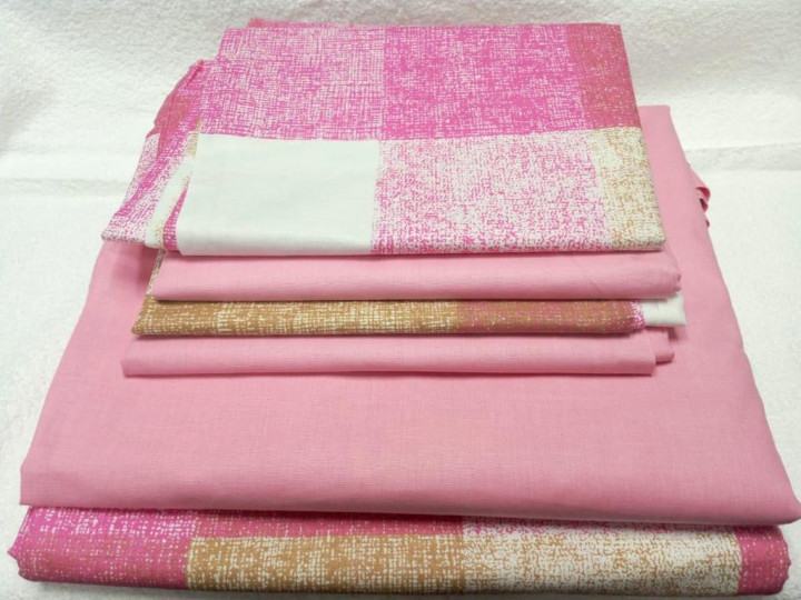 6×6 Cotton Bedsheet Package