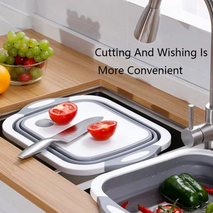 Foldable Chopping Board/drainer